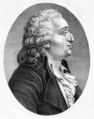 Marquis De Condorcet, French Politician Print by