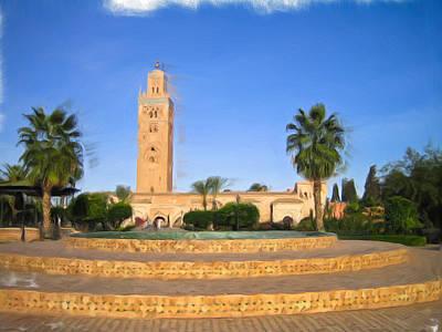 Marrakech Print by Tom Gowanlock