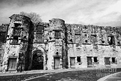 Mar's Wark In The Historic Old Town Of Stirling Scotland Uk Print by Joe Fox