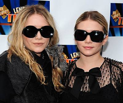 Mary Kate Olsen, Ashley Olsen Print by Everett