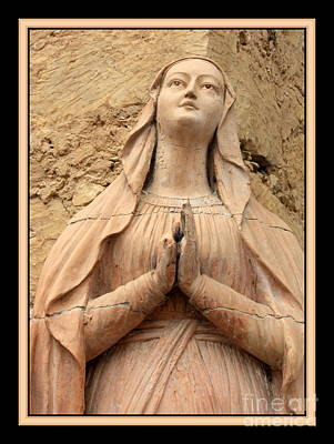 Mother Mary Photograph - Mary's Prayers by Carol Groenen
