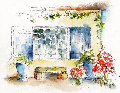 Pause Painting - Mas St Antoine by Pat Katz