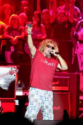 Van Halen Photograph - Mas Tequila by Dennis Jones