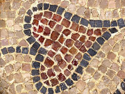 Masada Leaf Print by Linde Townsend