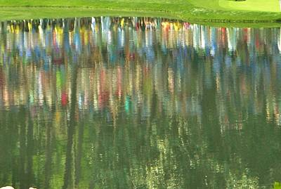 Master Reflection Print by Sharon Farris