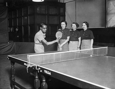 Ping Pong Photograph - Master Stroke by David Savill