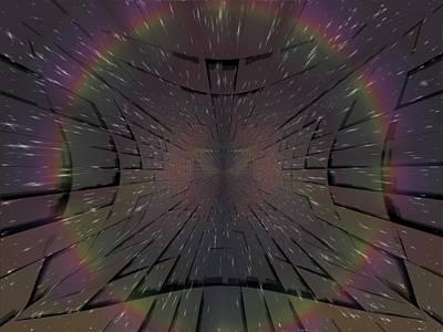 Matrix Print by Tim Allen