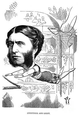 Trapeze Artist Photograph - Matthew Arnold (1822-1888) by Granger