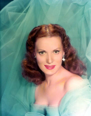 Maureen Photograph - Maureen Ohara, 1940s by Everett