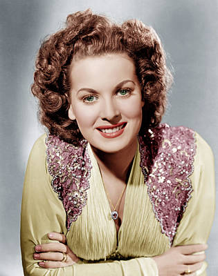 Incol Photograph - Maureen Ohara, Ca. 1940 by Everett