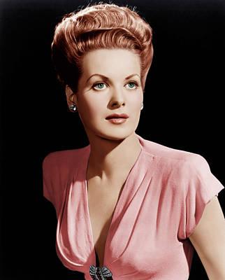 Maureen Photograph - Maureen Ohara, Ca. 1946 by Everett