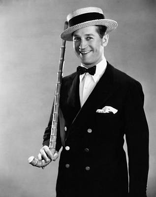 Maurice Chevalier, 1930 Print by Everett