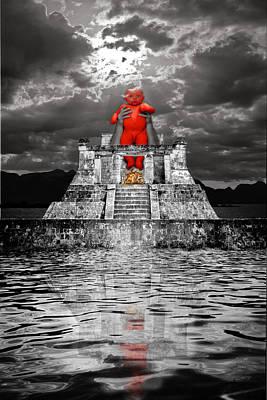 Surreal Photograph - Mayan Sacrifice by Andy Frasheski