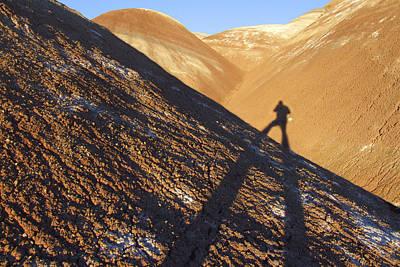 Me And My Shadow - Utah Print by Mike McGlothlen