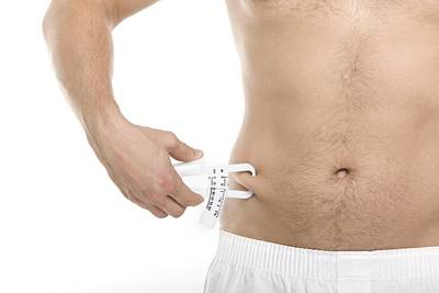 Measuring Body Fat Print by