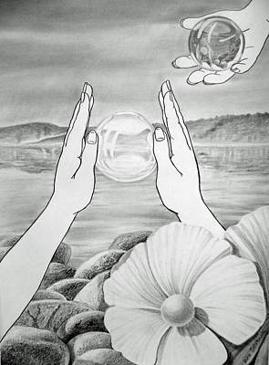 Meditation  Original by Irina Sztukowski