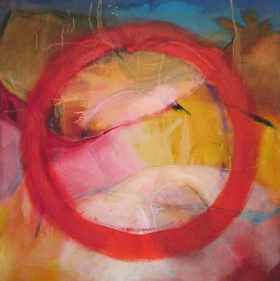 Contemplative Painting - Meditation No 11 by Zangmo Alexander