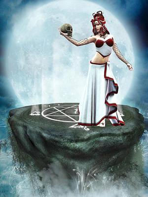 Gorgon Digital Art - Medusa 2 by Simone Gatterwe