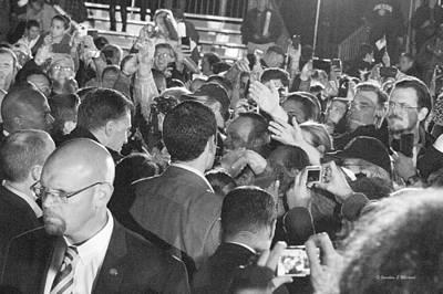 Mitt Romney Photograph - Meeting Mitt   Victory Rally Leesburg Virginia by Jonathan E Whichard