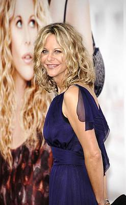 Dark Roots Photograph - Meg Ryan At Arrivals For Premiere by Everett