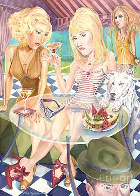Melrose Place Melange Print by Lisa Hershman