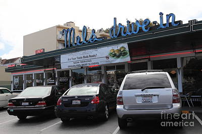 Mels Drive-in Photograph - Mel's Drive-in Diner In San Francisco - 5d18027 by Wingsdomain Art and Photography