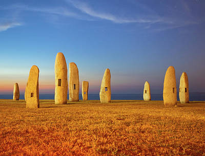 Menhirs Print by Diego Velo