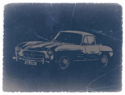 Concept Photograph - Mercedes Benz 300 Sl by Naxart Studio
