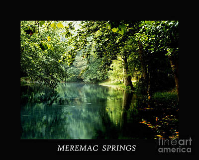 Meremac Springs Poster Print by Brenner Studios