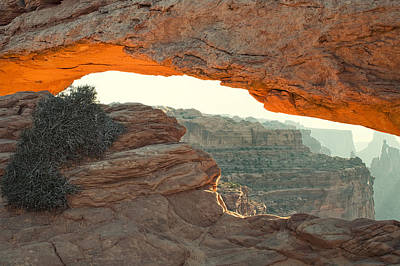 Mesa Arch Print by Andrew Soundarajan