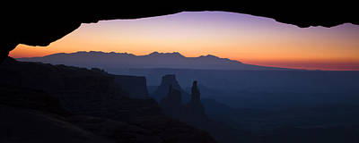 Silhouette Photograph - Mesa Dawn by Andrew Soundarajan