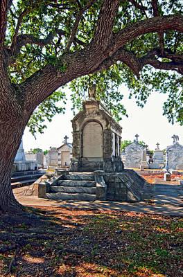 Metairie Cemetery Photograph - Metairie Cemetery by Steve Harrington