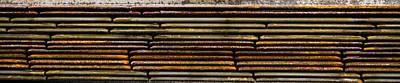 Metal Stripe  Print by Jean Noren