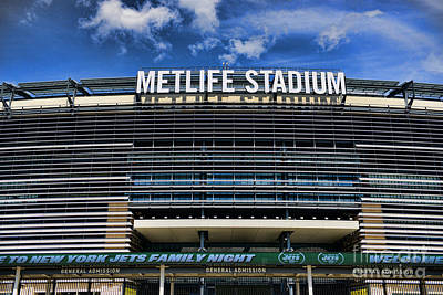 Metlife Stadium Print by Paul Ward