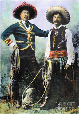 Mexican Cowboys Print by Granger
