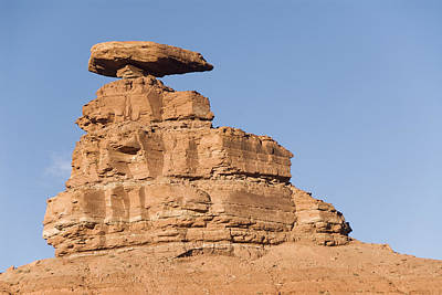 Mexican Hat Rock Print by Gloria & Richard Maschmeyer