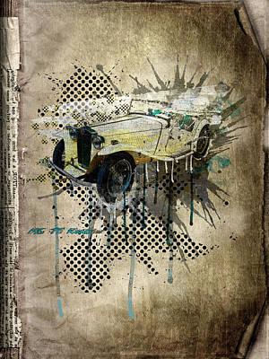 Mg Tc Roadster Print by Svetlana Sewell