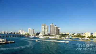 Miami Skyline Original by Dejan Jovanovic