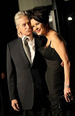 Michael Douglas, Catherine Zeta Jones Print by Everett