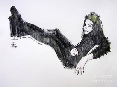Michael Jackson Painting - Michael Jackson - Turn It On by Hitomi Osanai