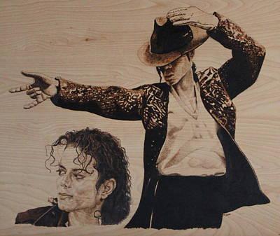 Michael Jackson Print by Michael Garbe