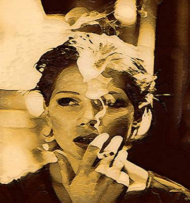 Cdkirven Mixed Media - Michelle Williams by CD Kirven