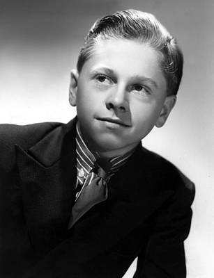 Mickey Rooney, 1936 Print by Everett