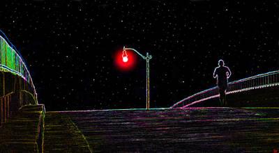 Midnight Run Print by David Lee Thompson