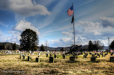 Military Honors Print by Shirley Tinkham