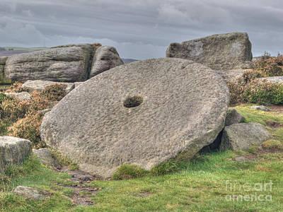 Millstone On Edge Print by Steev Stamford