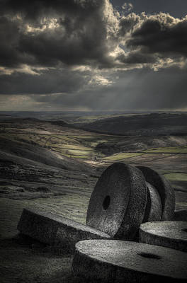 Millstones Print by Andy Astbury