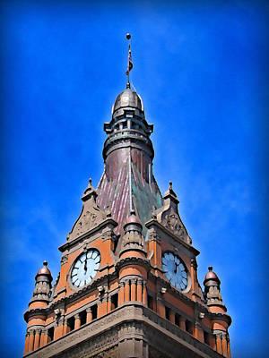 Terra Cotta Digital Art - Milwaukee City Hall by Geoff Strehlow