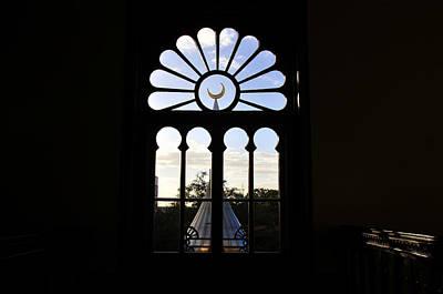 Minaret Through Window Print by David Lee Thompson
