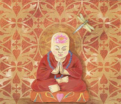 Mindfulness Print by Laurel Porter-Gaylord